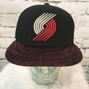 Trailblazer New Era Snapback Red Black Hat